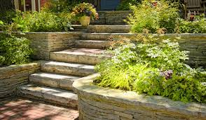 Patio Stones Kitchener Natural Stone In Gardens Kerr U0026 Kerr Landscaping