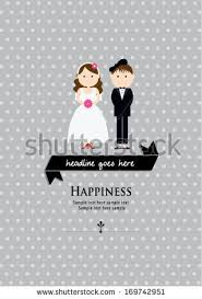 wedding poster template happiness wedding poster template vectorillustration background