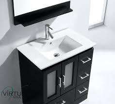 Bathroom Vanity Sets Cheap Contemporary 30 Single Bathroom Vanity Set With Mirror By Bosconi