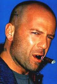 then look like bruce willis going bald is only weird 108062289