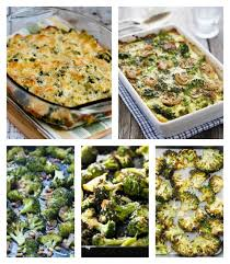 low carb broccoli recipes for a thanksgiving side dish low carb