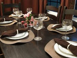dining room table setting ideas best 25 everyday table settings ideas on everyday