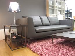 b b italia charles sofa beautiful leather charles sofa from b b italia with tekla rug in