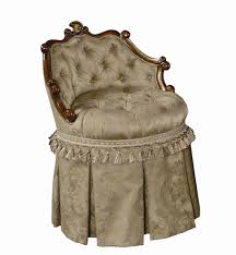Vanity Chairs For Bathroom Vanity Stool With Swivel Tufted