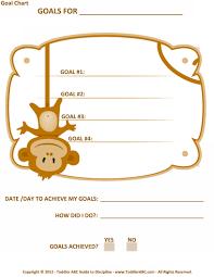 toddler abc guide to discipline toddler multiple goal monkey chart