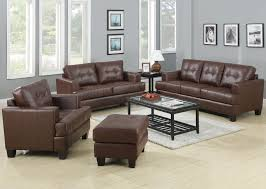Brown Bonded Leather Sofa Coaster Samuel Sofa Sleeper Coaster Fine Furniture