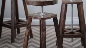 Adjustable Height Bar Stool Bottoms Up Build These Stylish Adjustable Height Bar Stools Make