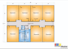 Floor Plan For Classroom by 4 Classrooms Available Modular Classroom Buildings