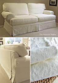 linen slipcovered sofa cotton linen slipcovers for flexsteel classics the slipcover maker