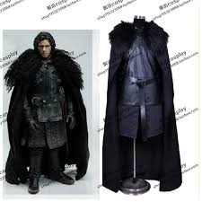 Games Thrones Halloween Costumes 2016 Game Thrones Costume Jon Snow Costume Coat