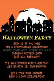 106 best halloween invitations images on pinterest halloween