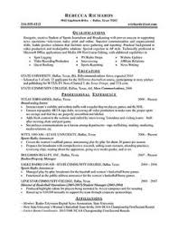 Simple Job Resume Format by Real Estate Agent Resume Example Tammys Resume Pinterest