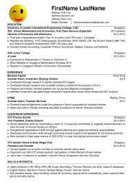 Resume Example Singapore by Resume Writing Services Singapore Free Resume Example And
