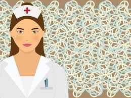 nurse in hospital backgrounds for powerpoint templates ppt