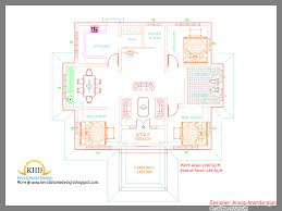 decor home design floor plant with small kerala house plans and