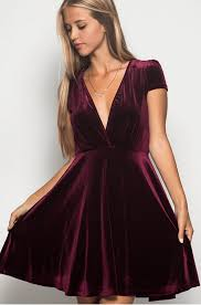 velvet dress burgundy velvet dress at shoptristin tristin