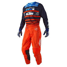 motocross pants and jersey combo 2018 troy lee se air team ktm mx motocross kit combo ktm orange