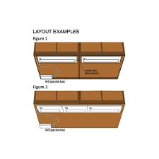 nsl under cabinet lighting priori xenon thin under cabinet task light 10 inch line voltage 043x 1