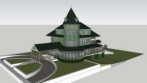 victorian house 3d warehouse sketchup models pinterest