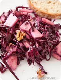 la cuisine du jardin salade de chou pomme et noix la cuisine du jardin