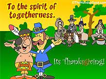 theholidayspot thanksgiving musical screensavers