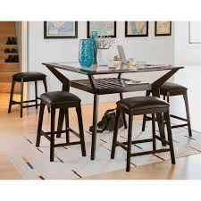 Counter Height Dining Room Sets Mystic Counter Height Dining Table Merlot Value City Furniture