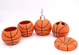 5 Piece Bathroom Set by Basketball Bathroom Accessories 5 Piece Collection Set Review