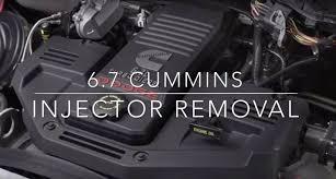 dodge 6 7 cummins performance parts 6 7 cummins injector removal