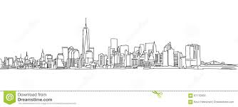 skyline clipart sketch pencil and in color skyline clipart sketch