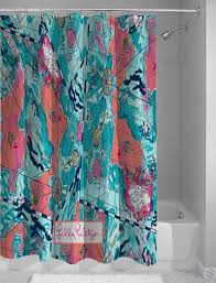 Shower Curtain Map Lilly Pulitzer Map Pattern Design Custom Shower Curtain Cheap