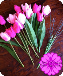 Tulip Wreath Spring Tulip Wreath Texas Craft House