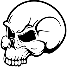simple skull clipart 2213506