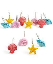 The Little Mermaid Shower Curtain Disney Bath Accessories Little Mermaid Shimmer And Gleam Shower