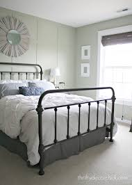 Metal Bed Frames Target A Pretty New Metal Bed From Thrifty Decor Target Bed