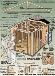 Plans To Build A Wooden Storage Shed by If You Need More Storage Space In The Backyard You Should Check