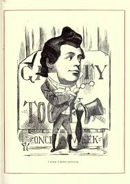 page cartoon portraits and biographical sketches of men of the day