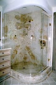 Bathroom Glass Shower Bent Glass Showers In Fl