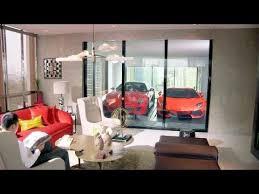 dream homes by scott living lamborghini aventador parking in living room hamilton scotts in