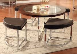 homelegance maine cocktail table with 4 ottomans 3290 01
