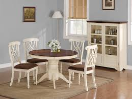 Coaster Dining Room Furniture Coaster Furniture 103180 Cameron Round Dining Table Buttermilk
