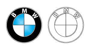 bmw logos how to draw the bmw logo symbol emblem youtube