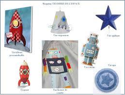 chambre theme espace une chambre de l espace avec fusée et martien lucky