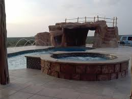 Lagoon Style Pool Designs by Stainless Steel Deck Level Pool Design Idolza