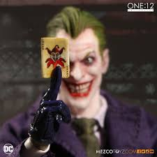 Joker For Halloween by One 12 Collective Dc Universe The Joker Action Figure U2013 Mezco Toyz