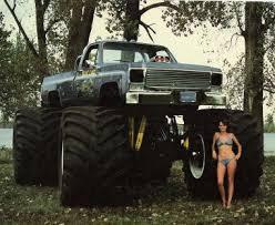 monster truck video for vintage bearfoot lil bearfoot monster truck video