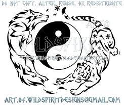 25 trending yin yang wolf ideas on pinterest ying et yang yin