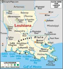 louisiana map cities louisiana facts on largest cities populations symbols
