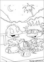 Rugrats Coloring Pages Coloring Book