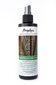 amazon com angelus reptile exotic skin leather cleaner
