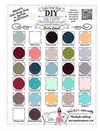 debi u0027s diy paint colour chart diy paint pinterest paint